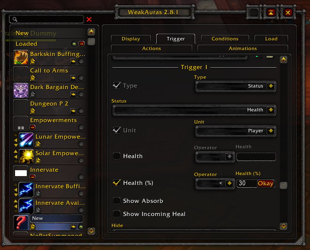 Making a Basic Weakaura | Ministry of Defense